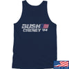 IV8888 Bush Cheney Tank Tanks SMALL / Navy by Ballistic Ink - Made in America USA