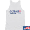 IV8888 Bush Cheney Tank Tanks SMALL / White by Ballistic Ink - Made in America USA