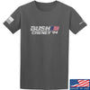 IV8888 Bush Cheney T-Shirt T-Shirts Small / Charcoal by Ballistic Ink - Made in America USA