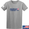 IV8888 Bush Cheney T-Shirt T-Shirts Small / Light Grey by Ballistic Ink - Made in America USA