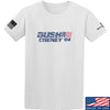 IV8888 Bush Cheney T-Shirt T-Shirts Small / White by Ballistic Ink - Made in America USA