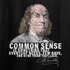 IV8888 Benjamin Franklin Common Sense Long Sleeve T-Shirt Long Sleeve [variant_title] by Ballistic Ink - Made in America USA