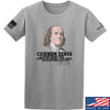 IV8888 Benjamin Franklin Common Sense T-Shirt T-Shirts Small / Light Grey by Ballistic Ink - Made in America USA