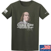 IV8888 Benjamin Franklin Common Sense T-Shirt T-Shirts Small / Military Green by Ballistic Ink - Made in America USA