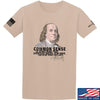 IV8888 Benjamin Franklin Common Sense T-Shirt T-Shirts Small / Sand by Ballistic Ink - Made in America USA