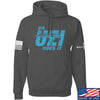 IV8888 Da Uzi Does It Hoodie Hoodies Small / Charcoal by Ballistic Ink - Made in America USA