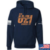 IV8888 Da Uzi Does It Hoodie Hoodies Small / Navy by Ballistic Ink - Made in America USA