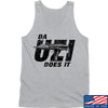 IV8888 Da Uzi Does It Tank Tanks SMALL / Light Grey by Ballistic Ink - Made in America USA