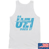 IV8888 Da Uzi Does It Tank Tanks SMALL / White by Ballistic Ink - Made in America USA