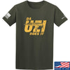 IV8888 Da Uzi Does It T-Shirt T-Shirts Small / Military Green by Ballistic Ink - Made in America USA