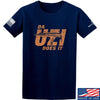IV8888 Da Uzi Does It T-Shirt T-Shirts Small / Navy by Ballistic Ink - Made in America USA