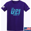 IV8888 Da Uzi Does It T-Shirt T-Shirts Small / Purple by Ballistic Ink - Made in America USA