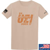 IV8888 Da Uzi Does It T-Shirt T-Shirts Small / Sand by Ballistic Ink - Made in America USA