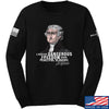 IV8888 Thomas Jefferson Dangerous Freedom Long Sleeve T-Shirt Long Sleeve Small / Black by Ballistic Ink - Made in America USA