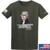 IV8888 Thomas Jefferson Dangerous Freedom T-Shirt T-Shirts Small / Military Green by Ballistic Ink - Made in America USA