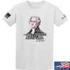 IV8888 Thomas Jefferson Dangerous Freedom T-Shirt T-Shirts Small / White by Ballistic Ink - Made in America USA