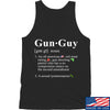 IV8888 Gun Guy Tank Tanks SMALL / Black by Ballistic Ink - Made in America USA
