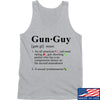 IV8888 Gun Guy Tank Tanks SMALL / Light Grey by Ballistic Ink - Made in America USA
