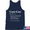 IV8888 Gun Guy Tank Tanks SMALL / Navy by Ballistic Ink - Made in America USA