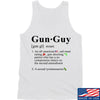 IV8888 Gun Guy Tank Tanks SMALL / White by Ballistic Ink - Made in America USA