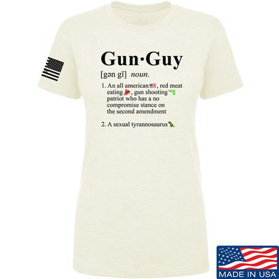 Ladies Gun Guy T-Shirt
