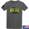IV8888 Don't Tread on Me T-Shirt T-Shirts Small / Charcoal by Ballistic Ink - Made in America USA