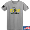 IV8888 Don't Tread on Me T-Shirt T-Shirts Small / Light Grey by Ballistic Ink - Made in America USA