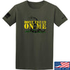 IV8888 Don't Tread on Me T-Shirt T-Shirts Small / Military Green by Ballistic Ink - Made in America USA