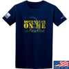 IV8888 Don't Tread on Me T-Shirt T-Shirts Small / Navy by Ballistic Ink - Made in America USA