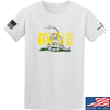 IV8888 Don't Tread on Me T-Shirt T-Shirts Small / White by Ballistic Ink - Made in America USA