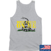 IV8888 Don't Tread on Me Tank Tanks SMALL / Light Grey by Ballistic Ink - Made in America USA
