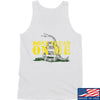 IV8888 Don't Tread on Me Tank Tanks SMALL / White by Ballistic Ink - Made in America USA