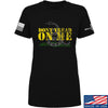 IV8888 Ladies Don't Tread on Me T-Shirt T-Shirts SMALL / Black by Ballistic Ink - Made in America USA