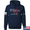 IV8888 Fastest Way to a Man's Heart Hoodie Hoodies Small / Navy by Ballistic Ink - Made in America USA