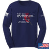 IV8888 Fastest Way to a Man's Heart Long Sleeve T-Shirt Long Sleeve Small / Navy by Ballistic Ink - Made in America USA
