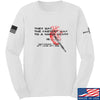 IV8888 Fastest Way to a Man's Heart Long Sleeve T-Shirt Long Sleeve Small / White by Ballistic Ink - Made in America USA