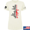 IV8888 Ladies Give Peace A Chance T-Shirt T-Shirts SMALL / Cream by Ballistic Ink - Made in America USA