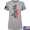 IV8888 Ladies Give Peace A Chance T-Shirt T-Shirts SMALL / Light Grey by Ballistic Ink - Made in America USA