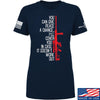 IV8888 Ladies Give Peace A Chance T-Shirt T-Shirts SMALL / Navy by Ballistic Ink - Made in America USA