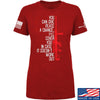 IV8888 Ladies Give Peace A Chance T-Shirt T-Shirts SMALL / Red by Ballistic Ink - Made in America USA