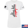 IV8888 Ladies Give Peace A Chance T-Shirt T-Shirts SMALL / White by Ballistic Ink - Made in America USA
