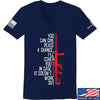 IV8888 Ladies Give Peace A Chance V-Neck T-Shirts, V-Neck SMALL / Navy by Ballistic Ink - Made in America USA
