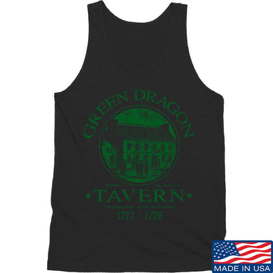 IV8888 Green Dragon Tavern Tank Tanks SMALL / Black by Ballistic Ink - Made in America USA