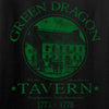 IV8888 Ladies Green Dragon Tavern V-Neck T-Shirts, V-Neck [variant_title] by Ballistic Ink - Made in America USA