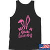 IV8888 Ladies Not a Gun Bunny Tank Tanks SMALL / Black by Ballistic Ink - Made in America USA