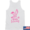 IV8888 Ladies Not a Gun Bunny Tank Tanks SMALL / White by Ballistic Ink - Made in America USA