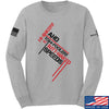 IV8888 Hi-Jinkery and Tom-Foolery Long Sleeve T-Shirt Long Sleeve Small / Light Grey by Ballistic Ink - Made in America USA