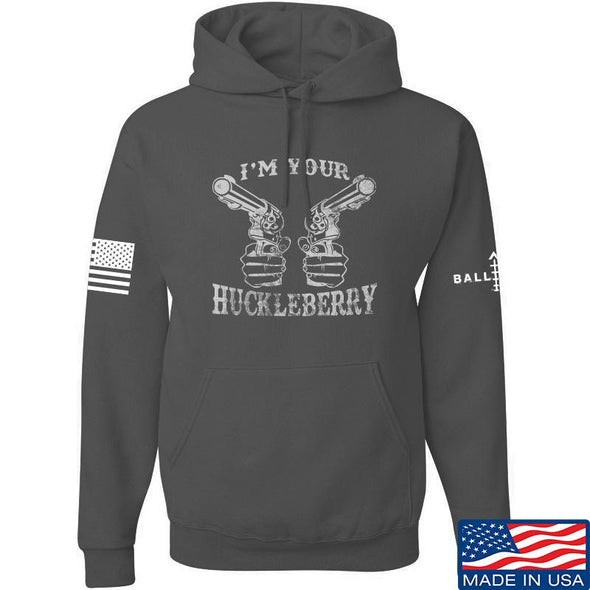 IV8888 Huckleberry Hoodie Hoodies Small / Charcoal by Ballistic Ink - Made in America USA