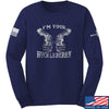 IV8888 Huckleberry Long Sleeve T-Shirt Long Sleeve Small / Navy by Ballistic Ink - Made in America USA