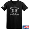 IV8888 Huckleberry T-Shirt T-Shirts Small / Black by Ballistic Ink - Made in America USA